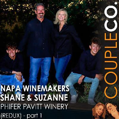 Napa Winemakers Shane And Suzanne of Phifer Pavitt Winery (Redux) Part 1