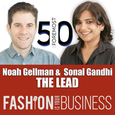 Noah Gellman and Sonal Gandhi of The Lead - The Foremost 50 List 2020