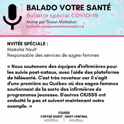 COVID-19 - MaechaNault - E050 - Balado Votre Santé