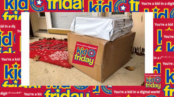 Apps, Websites, Fun! 236 - Stay Away From My Package - Kid Friday Podcast