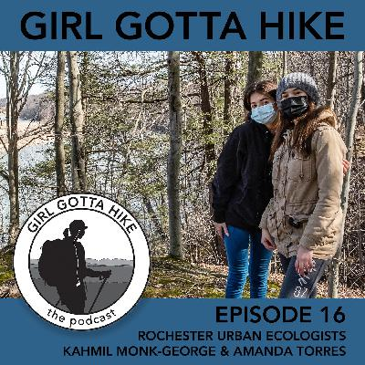 16. Kahmil Monk-George and Amanda Torres | Rochester Urban Ecologists
