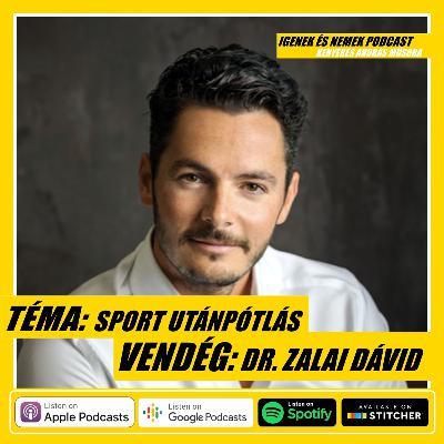 #39 - SPORT UTÁNPÓTLÁS ITTHON/FUTBALL - VENDÉG: DR. ZALAI DÁVID