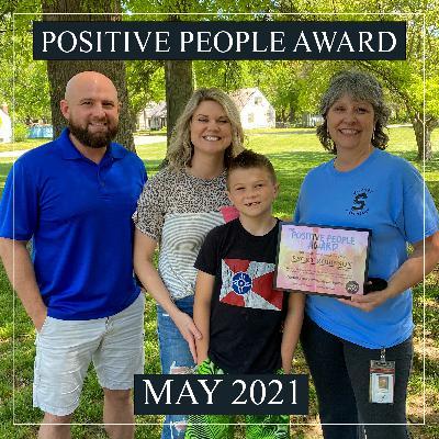 Positive People Award (May 2021)