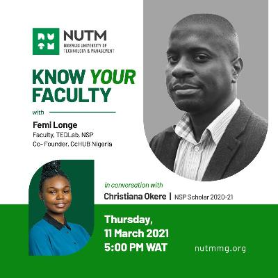 Know Your Faculty with Femi Longe