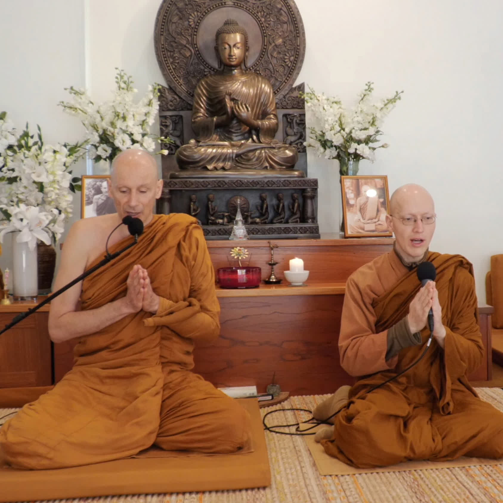 BUDDHIST PALI CHANTING: Blessing at Dhammagiri Forest Hermitage during Lockdown
