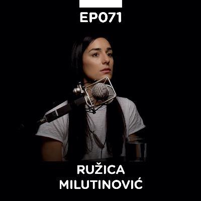 EP 071: Ružica Milutinović, slikarka - Pojačalo podcast