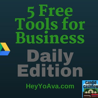 25: Top 5 Free Tools for Business I Use on a Daily Basis - The Candid Cashflow Podcast | Virtual Assistant | Passive Income | Entrepreneur