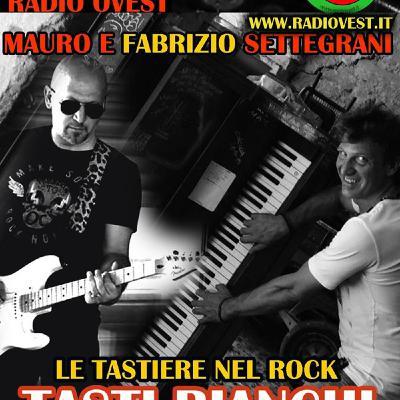 """Mauro e Fabrizio Settegrani in """" Le tastiere nel Rock """" Tasti bianchi e tasti neri"""