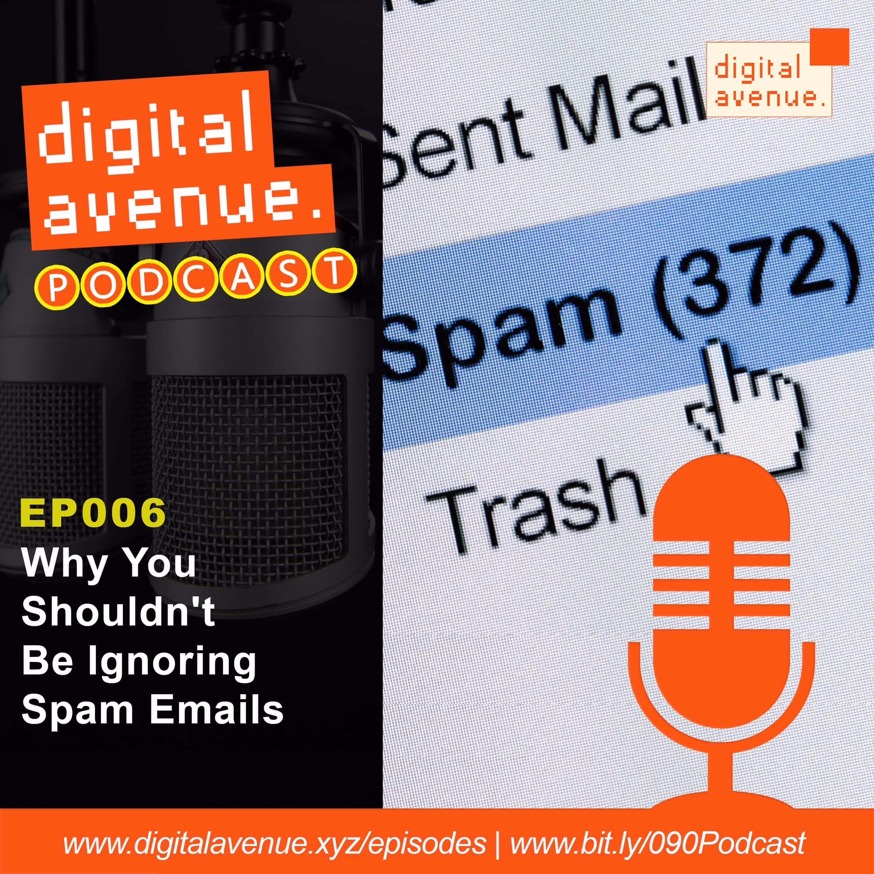 Why You Shouldn't Just Ignore or Delete Spam (Scam) Emails