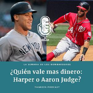¿Quién vales más: Aaron Judge o Bryce Harper?