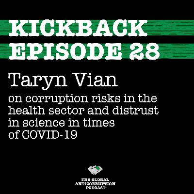 28. Taryn Vian on corruption risks in the health sector & distrust in science in times of COVID-19