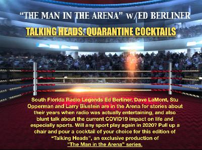 South Florida sportstalk radio legends on COVID-19, the future of sports in the US, and stories no one has ever heard before.