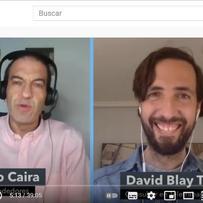 MARIO CAIRA ENTREVISTA A DAVID BLAY TAPIA EN #EMPRENDEDORES, NM MIAMI RADIO.