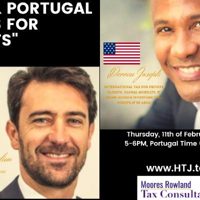 U.S. & PORTUGAL TAXES FOR EXPAT 11TH FEBRUARY 2021
