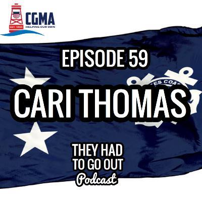 Episode 59: Cari Thomas - RADM (Ret.) - CEO of Coast Guard Mutual Assistance (CGMA)
