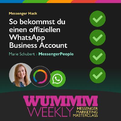 Marie Schubert – Wie bekommt man einen offiziellen WhatsApp Unternehmensacccount?