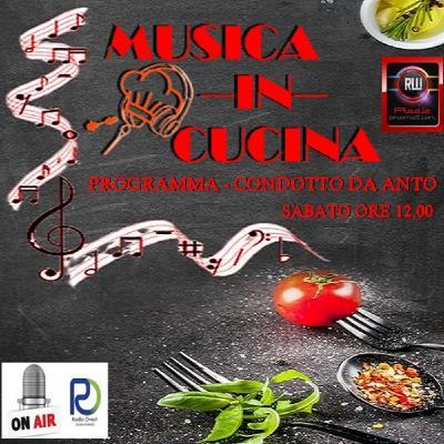MusicaInCucina 6 marzo RadioOvest