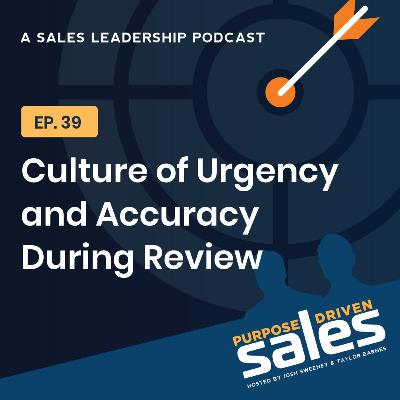 Episode 39: Maintaining A Culture of Urgency and Accuracy During Review