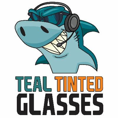 Teal Tinted Glasses 05 27 21