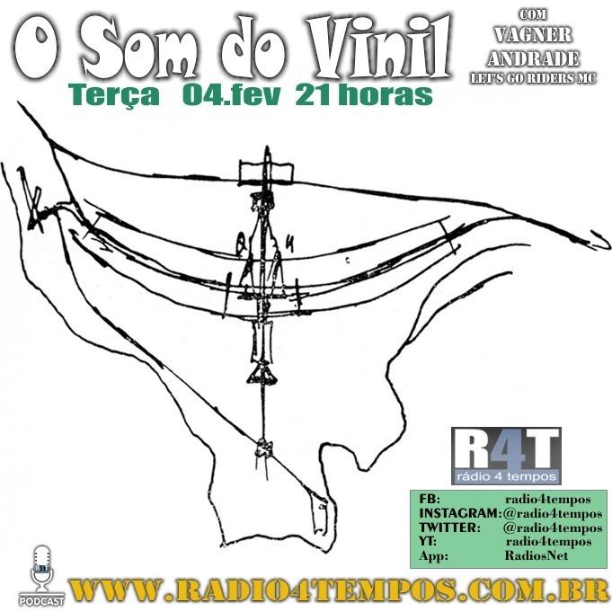 Rádio 4 Tempos - Som do Vinil 24:Rádio 4 Tempos