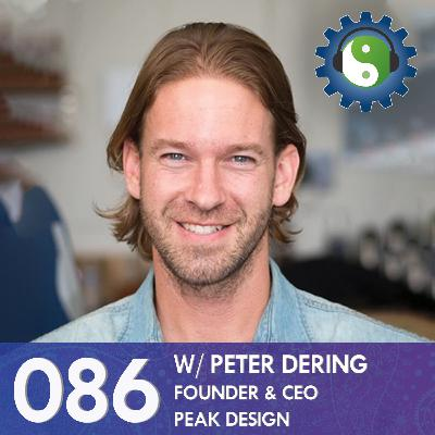 086 - with Peter Dering - On Peak Design, Kickstarter, and Living Carbon Neutral