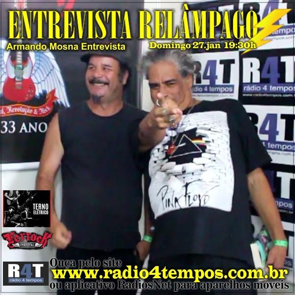 Rádio 4 Tempos - Entrevista Relâmpago 59