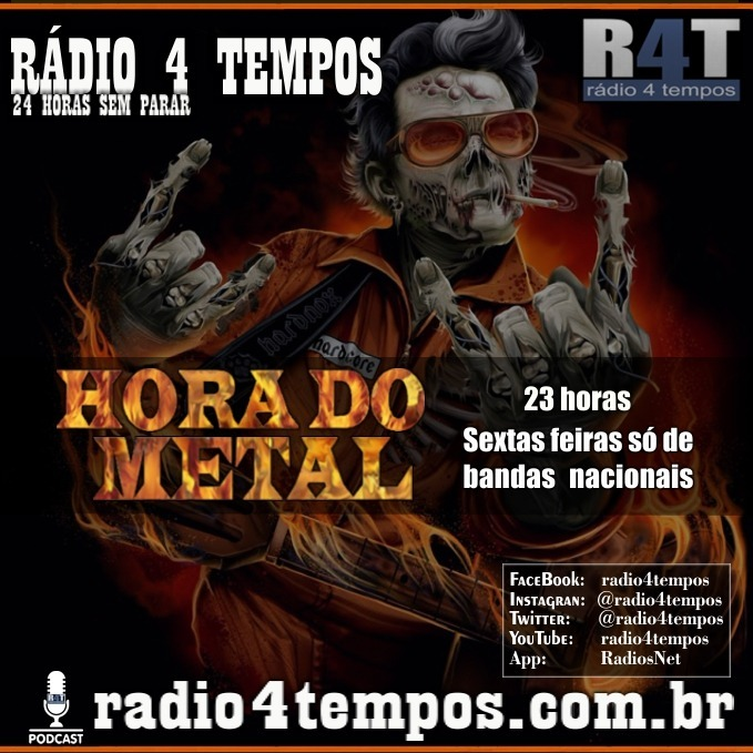 Rádio 4 Tempos - Hora do Metal 33:Rádio 4 Tempos