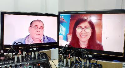 784 - Divulgação do Espiritismo no Uruguai com Juliana e Ruben da Rádio Espírita Uruguay
