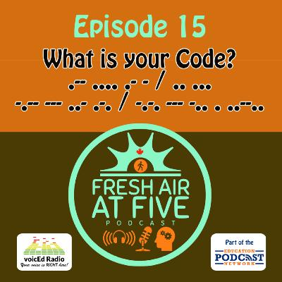 What is your CODE? FAAF15