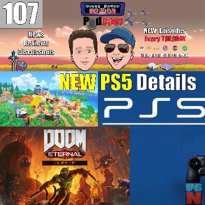 New PS5 Details! Plus Doom Eternal Review