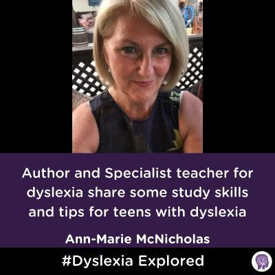 #43 Study Skills Author Shares Tips For Dyslexia