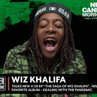 'High Talk' with #WizKhalifa on New Society Norms + #TheSagaofWizKhalifa.