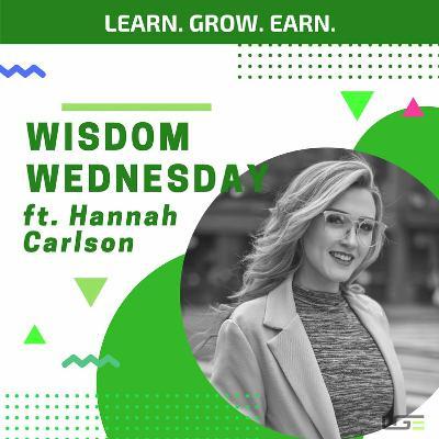 #WisdomWednesday with Hannah Carlson