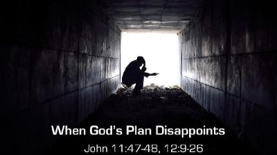 When God's Plan Disappoints