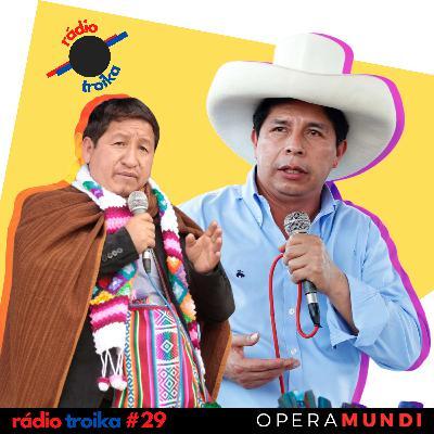 #29 - Recuos e embates políticos: Castillo reformula gabinete no Peru
