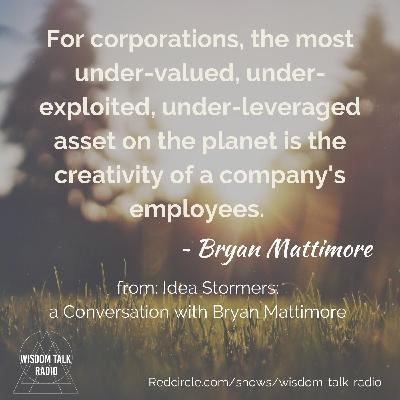 Idea Stormers: a Conversation with Bryan Mattimore