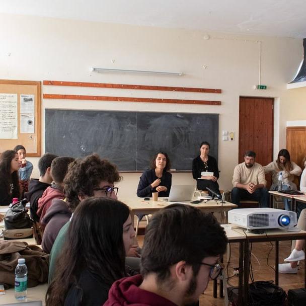 MARGARIDA MENDES | Encontros com o território e a sua comunidade através da Arte II
