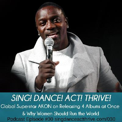Global Superstar AKON on Releasing 4 Albums & Why Women Should Run the World