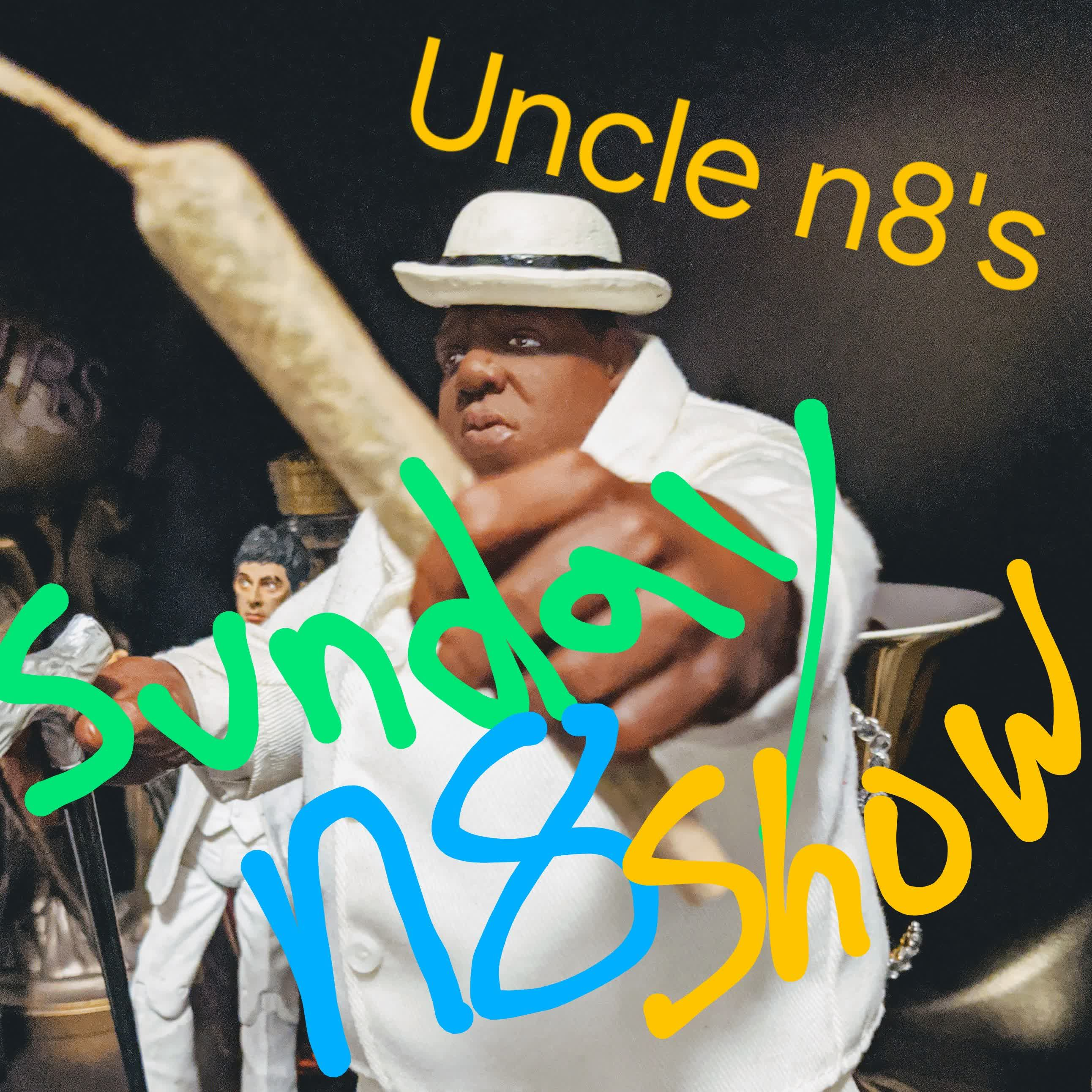 Uncle n8's Sunday n8 Show:Uncle n8.nWo Radio.n8itude World Order