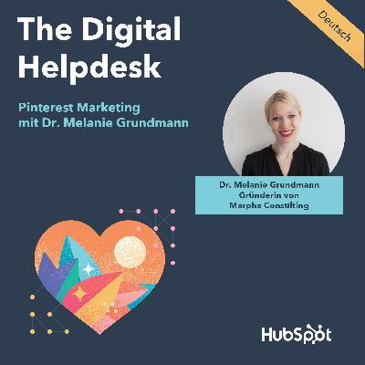 #027 Pinterest Marketing mit Dr. Melanie Grundmann