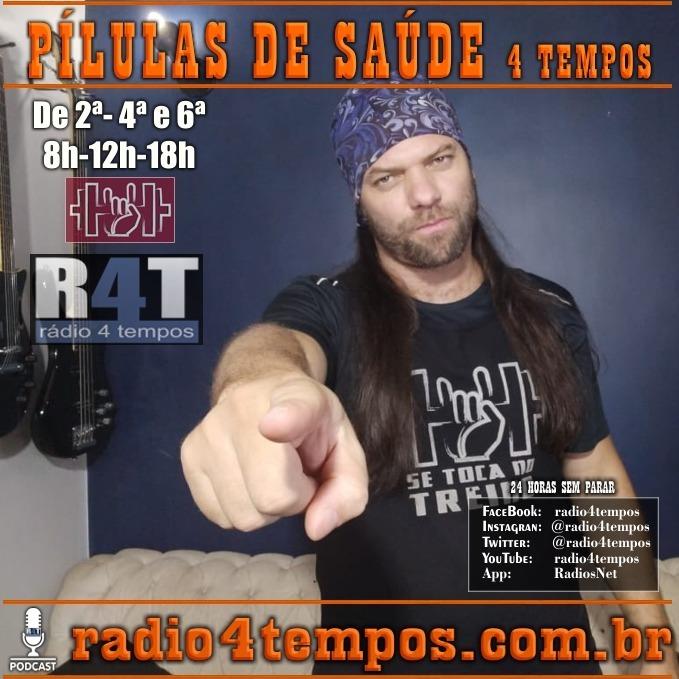 Rádio 4 Tempos - Pílulas de Saúde 119:Itazil Junior