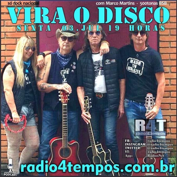 Rádio 4 Tempos - Vira o Disco 68:Rádio 4 Tempos