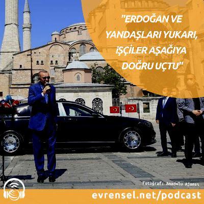 """""""Ekonomide, Erdoğan ve yandaşları yukarı, işçiler aşağı doğru uçtu"""""""