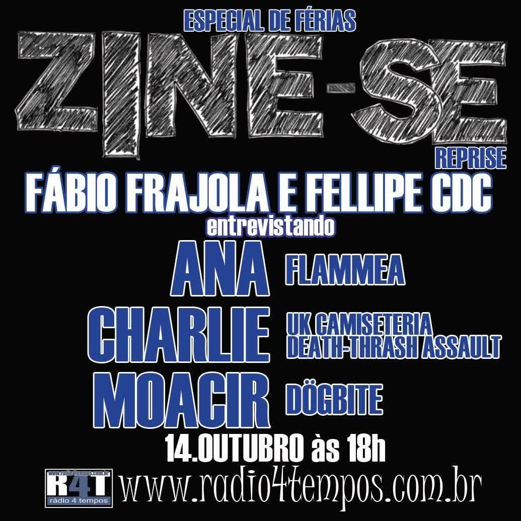 Rádio 4 Tempos - Zine-se 72