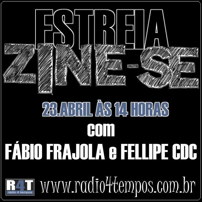 Rádio 4 Tempos - Zine-se 01