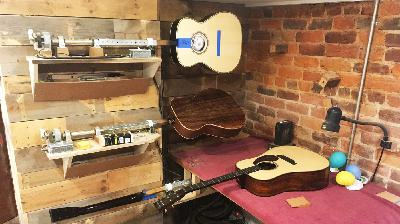 Inside Rockbridge Guitars, Where The Music Really Starts