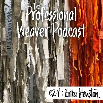24 : Erika Hewston on function vs decoration, sourcing materials, starting out, and her first solo exhibition
