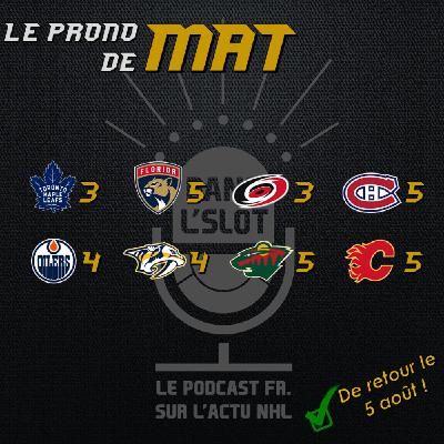 Playoffs NHL 2020 - Les pronos de Mat (Tour de qualification)