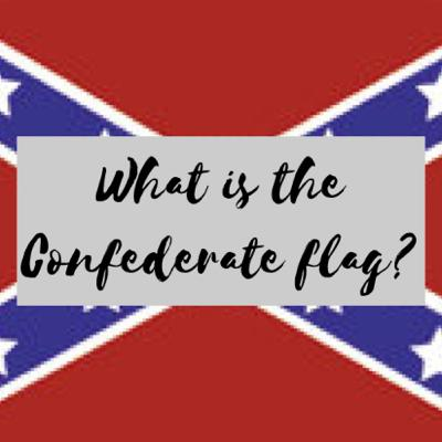 What is a confederate flag?