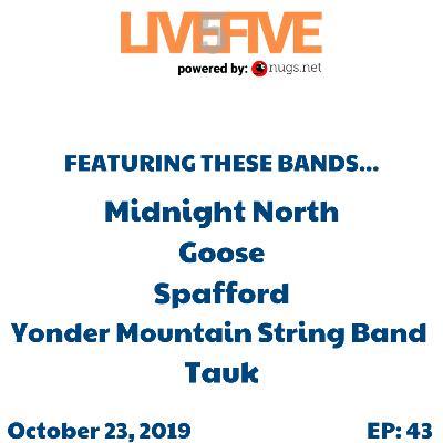 Live 5 - October 23, 2019.